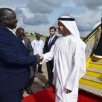 Sheikh Abdullah meets Ugandan Counterpart