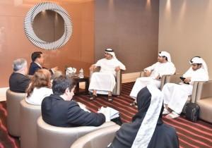 Sheikh Abdullah receives UNIDO's Director-General