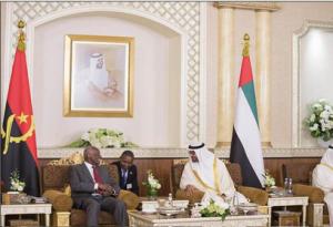 Sheikh Mohamed bin Zayed meets Angolan President
