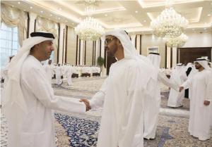 Sheikh Mohamed bin Zayed receives Ramadan well-wishers