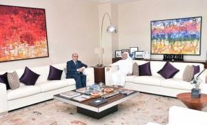 Gargash receives Tunisian envoy