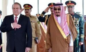 King Salman and Pakistani PM discuss ties