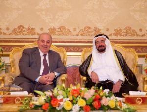 Sharjah Ruler receives Iraqi Vice President