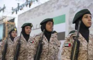 UAE Armed Forces women honoured