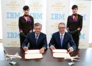 Etihad Airways signs US$700 mln agreement with IBM