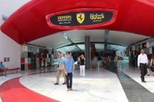 Ferrari World Abu Dhabi lights up again