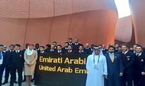 UAE Pavilion at Expo Milano 2015 wins award