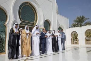 Egyptian President visits Sheikh Zayed Tomb