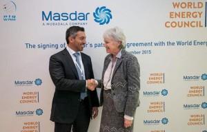 WEC and Masdar sign patronship agreement