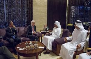Sheikh Mohamed bin Zayed meets British security adviser