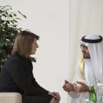 Sheikh Mohamed bin Zayed receives President of Kosovo