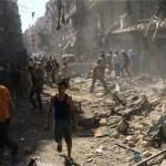 Halt of airstrikes against Syrian civilians demanded