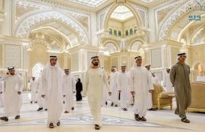 Newly reshuffled UAE Cabinet meets