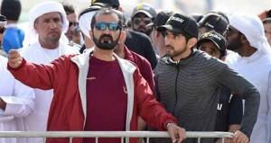 Sheikh Mohammed attends Spartan Race