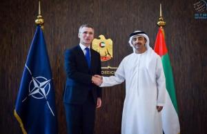 Sheikh Abdullah receives NATO Secretary-General