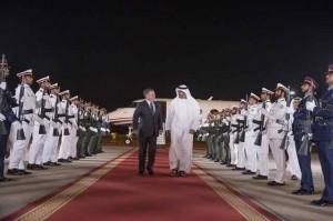 Sheikh Mohamed bin Zayed receives King of Jordan