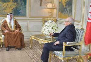 Sheikh Saif bin Zayed Meets Tunisian President
