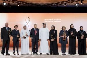 Winners of Abu Dhabi Awards honoured
