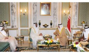 HM the King receives Abu Dhabi Crown Prince