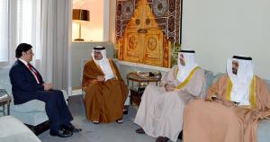 Bahrain's Crown Prince receives Pakistan's Ambassador