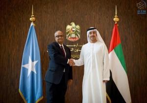 Sheikh Abdullah receives Somali counterpart