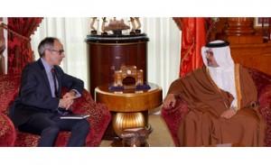 Crown Prince receives UK Ambassador