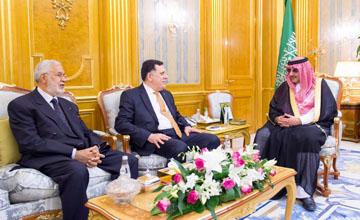 Saudi Crown Prince meets Libyan, Canadian officials