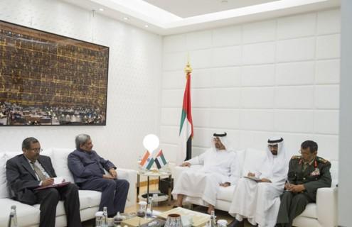 Sheikh Mohamed bin Zayed receives Indian Defence Minister