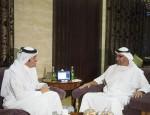 Sheikh Mohamed bin Zayed receives Qatari FM