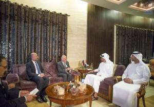 Sheikh Mohamed bin Zayed receives Afghanistan's President