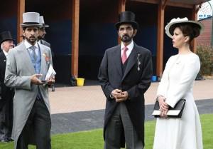 Sheikh Mohammed attends Epsom Derby