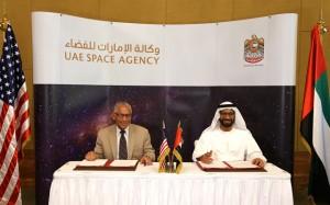 Sheikh Mohammed receives NASA Administrator