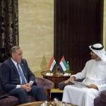 UAE President gets Iraqi PM's note