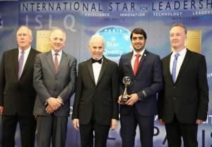 DEWA wins International Star for Leadership
