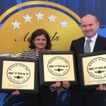 Triple honours for Etihad Airways