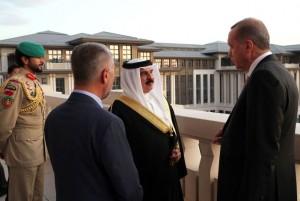 King Hamad, President Erdogan hold talks