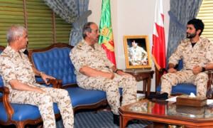 Commander-in-chief visits BDF units