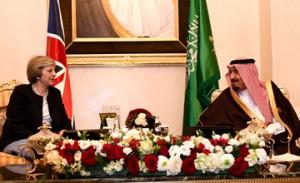 Saudi King receives British Premier