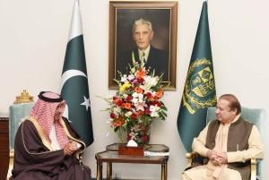 Bahrain's National Guard Commander meets Pakistan's PM