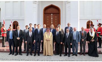 King hails Bahraini-Russian relations