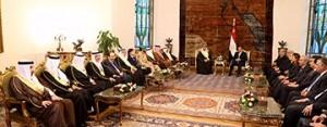 HM King, Egyptian President hail strategic cooperation