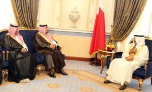 HRH Premier hails solid ties with Saudi Arabia