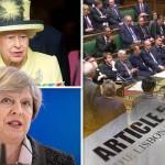 Queen authorises British PM to begin Brexit