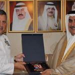 Foreign Minister meets Italian Navy Fleet Commander