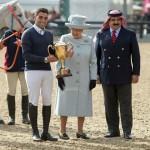 King, Queen Elizabeth II crown winners