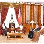 HRH Crown Prince meets Cassation Court President