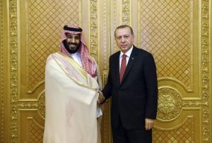 Saudi Crown Prince meets Turkish president