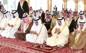 HM the King performs Eid Al-Adha prayers