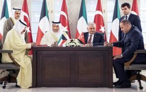 Kuwait, Turkey sign six agreements, accords