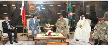 National Guard commander receives Pakistani military delegation